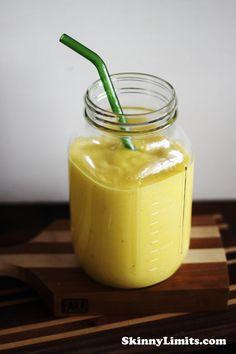 Mango Banana Orange Smoothie.