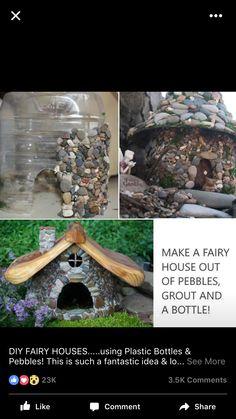Cute lil fairy rock house