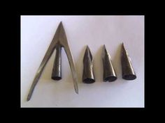 How to make an arrowhead out of a spoon (hd) - YouTube