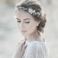 Stunning couture bridal accessories from Lavender