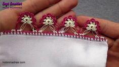 İplik Oyası Yapılışı Crochet Unique, Baby Knitting Patterns, Art Blog, Needlework, Art Drawings, Diy, Beautiful, Lace, Creative