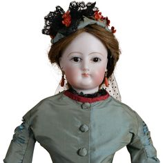 Lovely Early F. G. French Fashion - 17 Inches