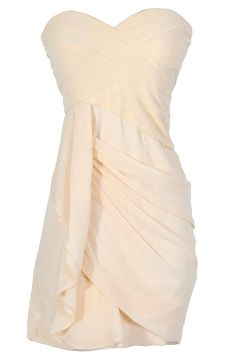 Lily Boutique Dreaming of You Chiffon Drape Party Dress in Champagne, $68 Ivory Champagne Chiffon Drape Party Dress, Ivory Champagne Rehearsal Dinner Dress, Champagne Chiffon Bridesmaid Dress, Champagne Chiffon Party Dress, Dreaming of You Chiffon Drape Party Dress in Ivory www.lilyboutique.com