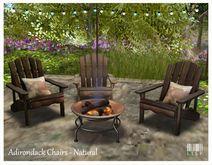 LISP - Adirondack Garden Chair Set - Serendipity