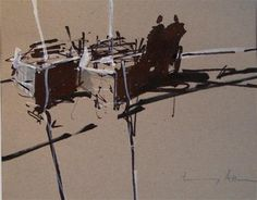 """Shadows"" - Original Fine Art for Sale - © Tony Allain"