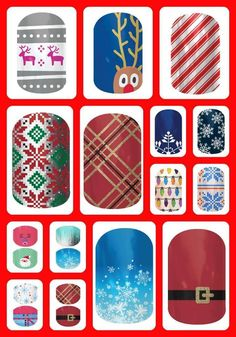 New Holiday/Christmas Jamberry nail designs are available! http://adriennesjams.jamberrynails.net