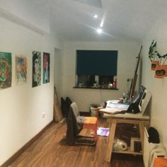 Space it begins to settle into itself. Glad I had a kids birthday party in it brings a good vibe for a first blessing of the space. #creativespace