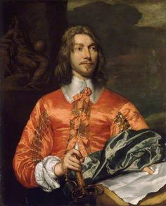 Portrait of a Royalist by William Dobson (1611-1646)