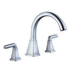 Glacier Bay 12000 Series 2-Handle Deck-Mount Roman Tub Faucet in Chrome - 461-8201 - The Home Depot