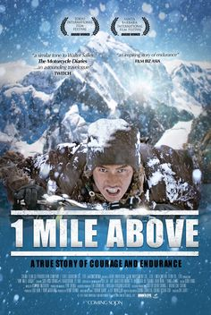 1 Mile Above Movie Poster  #cycling #bike #tibet #movie #film #kora