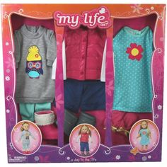 Baby Alive Clothes At Walmart My Life As A Day In The Life Clothing Setskaitlyn Doll  Hobbies