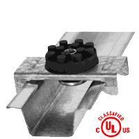 PAC International RSIC-1 resilient clips for walls and ceilings.