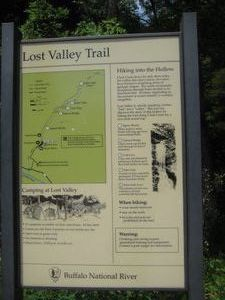 Lost Valley Hiking Trail in Arkansas