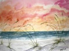 Shop for ArtAppealz Derek Mccrea 'Abstract Seascape' Removable Wall Art - Multi. Get free delivery On EVERYTHING* Overstock - Your Online Art Gallery Shop! Beach Watercolor, Watercolor Landscape, Abstract Watercolor, Abstract Art, Seascape Paintings, Watercolor Paintings, Watercolors, Beach Paintings, Top Paintings