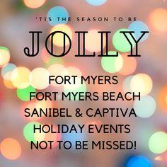 Holiday Events in Fort Myers Beach, Sanibel, and Captiva Florida Vacation, Captiva Florida, Ft Meyers Beach, Florida Holiday, Fort Myers Florida, Captiva Island, Holiday Festival, Holidays And Events, Christmas Holiday
