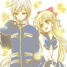 Minako, Yaten (#Minako Aino #Sailor Venus #Yaten Kou #Starlights #Three Lights #Star Healer)