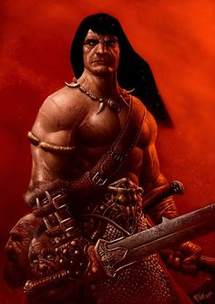 Conan by SpineBender.deviantart.com on @deviantART