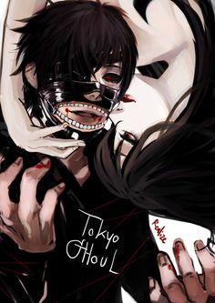 Kaneki and Rize // TG