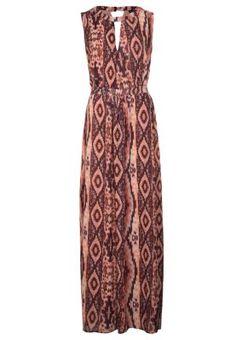 TIKKI - Fotsid kjole - flerfarget