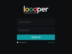 Loooper Sign In :) by INKOD HYPERA Ltd.