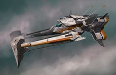 Spaceships Sci Fi, Robots Lady, 2D Art, Concept Ships, Darren Bartley, Concept Art, Spaceships Spacecraft, Spaces Ships, Scifi Starship