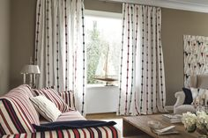 A beautiful stripe is part of the RIVIERA Collection from JAB ANSTOETZ. Available through Seneca Textiles.