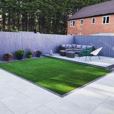 Paved Backyard Ideas, Backyard Seating, Modern Backyard, Paved Patio, Raised Bed Garden Design, Back Garden Design, Modern Garden Design, Backyard Patio Designs, Backyard Landscaping