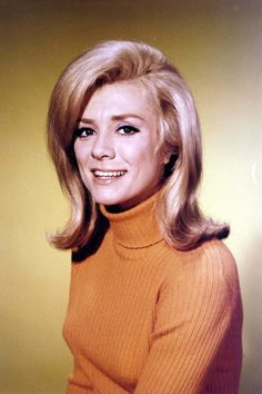 Swedish/American actress Inger Stevens  was born today 10-18 in 1934. Many identify her with her mid 60s TV sitcom, The Farmer's Daughter. She stared opposite Clint Eastwood in Hang 'Em High and in 5 Card Stud opposite Dean Martin as well as other film and TV roles. She passed of barbiturate poisoning in 1970.