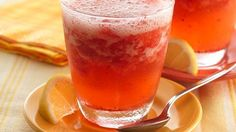VERY GOOD! Made this with Raspberries. Will be making this again, it was a favorite for everyone! Sparkling Strawberry Lemonade Slush