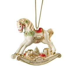 $39.95 - Rocking Horse Ornament By Lenox