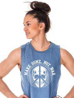 Blue Muscle Tank, GUNZ (BEAUTY)