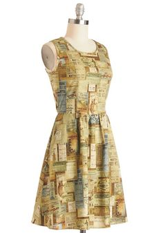 Rustic Road Trip Dress, #ModCloth