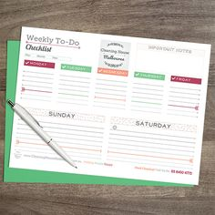Download this free printable checklist and organize your work and home task more easily. Check out the source for more printables and interesting offers.