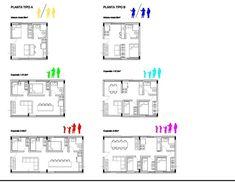 PUE Arq IV Pink Things susan g komen pink color code Social Housing Architecture, Co Housing, Modular Housing, Architecture Student, Concept Architecture, Sustainable Architecture, Residential Architecture, Architecture Design, Computer Architecture