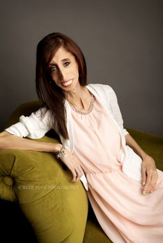 "Lizzie Velásquez : They called her ""The World's Ugliest Woman"" and her response is incredibly beautiful. I literally cried. Click on photo to watch her video and follow her on You Tube. Photo by Ryan Towe."