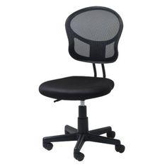 Screen Back Task Chair - Black   $39.00