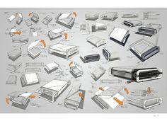 include a page with simple photoshop renderings     Tilt Scanner by Erik Askin, via Behance