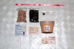 Celebratta - emoções em papel: Lembrancinha: kit para plantar