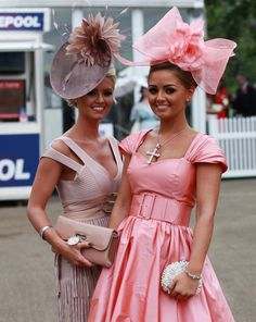 Recap: Royal Ascot Ladies' Day 2014 pictures, best dressed and fashion verdicts - Mirror Online // hmmmm... TH