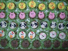 bombons decorados fazendinha