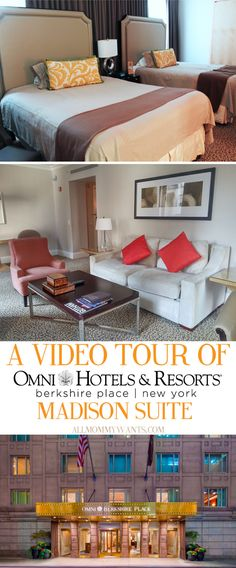 Travel to New York:  Luxury and Convenience At Omni Berkshire NYC (A Video Tour)