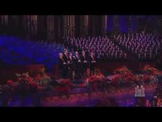 O Holy Night - The King's Singers and the Mormon Tabernacle Choir - YouTube