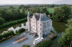 Angel Adoree, French Chateau Homes, Motte And Bailey Castle, Angel Strawbridge, Chateaus, Country Estate, Dream Wedding, Paris Wedding, Exterior Design