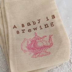 Hey, I found this really awesome Etsy listing at https://www.etsy.com/listing/238930145/pink-teapot-favor-bags-baby-tea-party