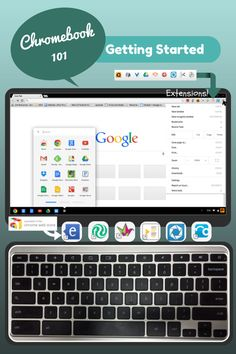 Chromebook 101: Getting Started. A guide with lots of little hints and tricks on the chrome book