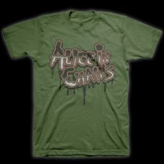 Alice In Chains Old School Logo T-Shirt