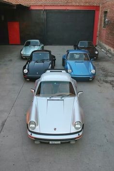 "Porsches... And the ""Plain Jane "" garage I store them in. Fancy Garages are not the objective... The contents of the garage is everything."