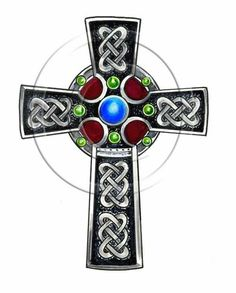 Best Celtic Cross Tattoo Design