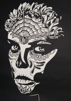 Day of the Dead Papercut