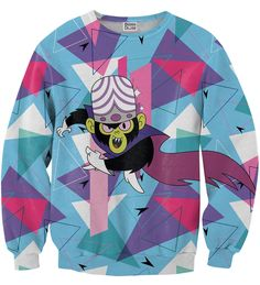 Geometric Mojo Jojo sweater, Mr. GUGU & Miss GO